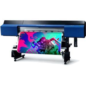 Large format printer printing banner