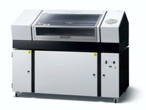UV benchtop printer on trolley cart