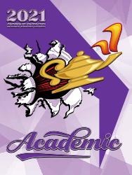 Academic awards catalogue cover
